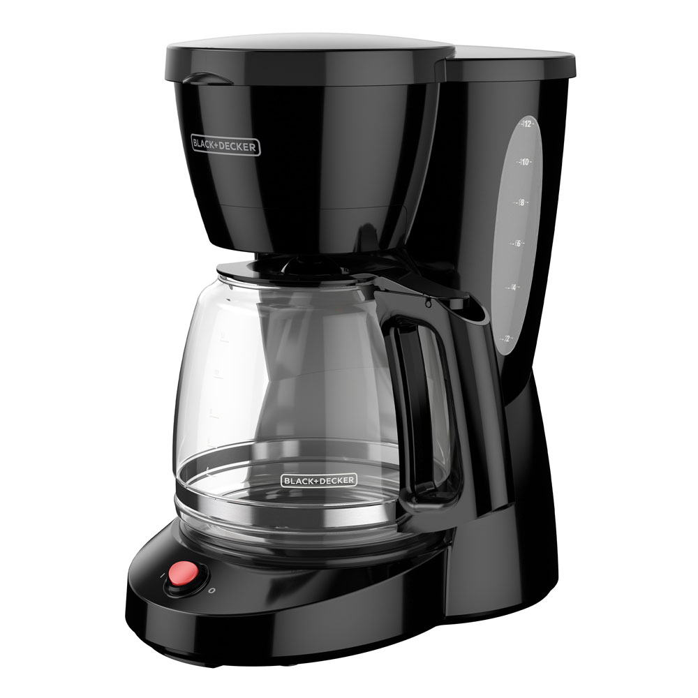black and decker 12 cup programmable coffee maker CM0940BD