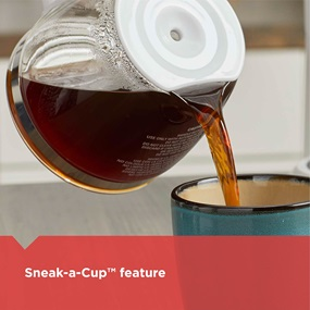 sneak a cup feature CM0940BD