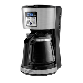 12-Cup Programmable Coffeemaker with Exclusive Vortex Technology, Stainless Steel - CM1331S