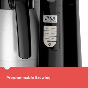 12-Cup Thermal Coffeemaker with programmable brewing - CM2045B.