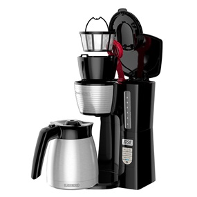 12-Cup Thermal Programmable Coffeemaker, expanded to show all parts - CM2045B.