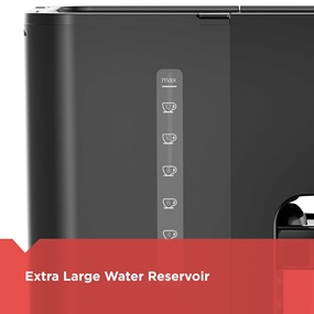 Extra large water reservoir CM4200S