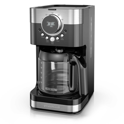 Select A Size Easy Dial Programmable Coffeemaker Stainless Steel Black Cm4200s