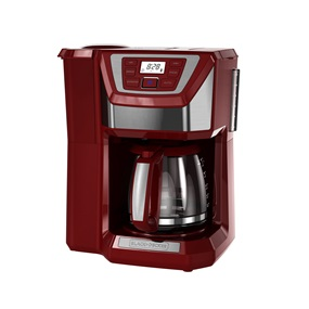 Black And Decker 12 Cup Mill Brew Coffeemaker Cm5000rd