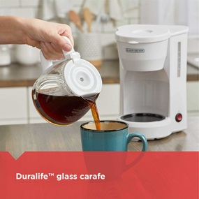 duralife glass carafe dcm600w