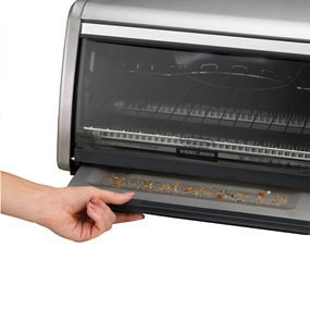 Black and Decker small toaster oven