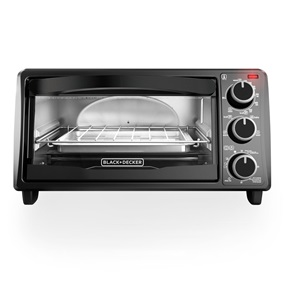 4-Slice Toaster Oven, Black, TO1313B