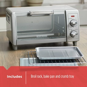 includes unit, broil rack, bake pan and crumb tray to1700sg