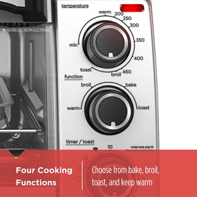 4 cooking functions