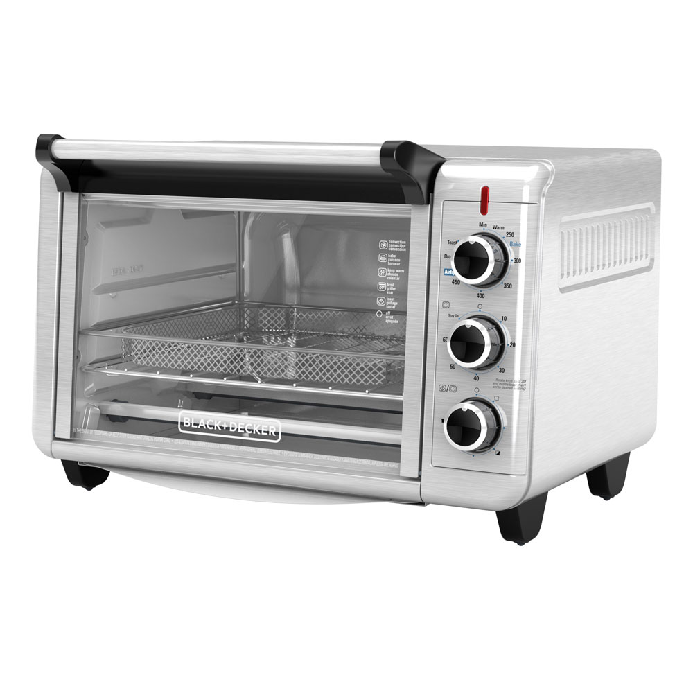 To3215ss Crisp N Bake Air Fry Toaster Oven Black Decker