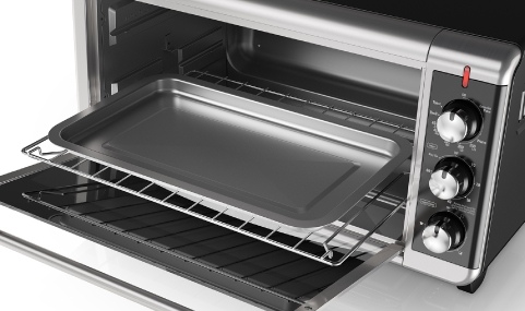BLACK+DECKER Extra-Wide 8-Slice Toaster Oven| TO3250XSB