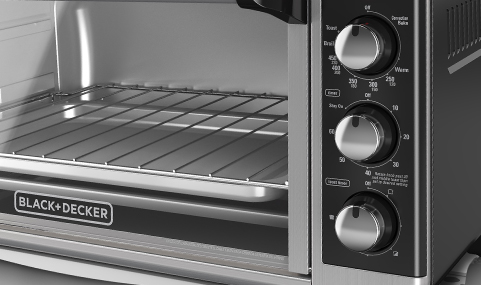 Black Decker Extra Wide 8 Slice Toaster Oven To3250xsb