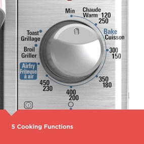 5 Cooking Functions