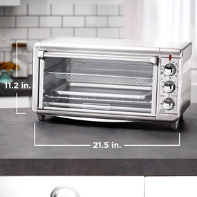 To3265xssd Extra Wide Crisp N Bake Air Fry Toaster Oven
