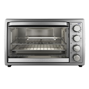 Rotisserie Convection Countertop 6 Slice Toasteroven, TO4314SSD