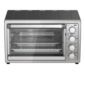 Crisp 'N Bake Air Fry Toaster Oven with Rotisserie, TO4315SSQ