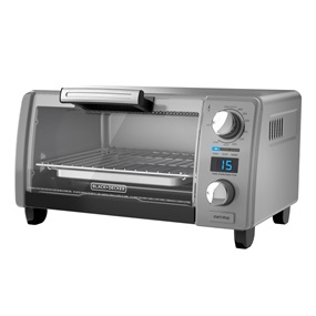 4-Slice Natural Convection Digital Toaster Oven, Silver, TOD1770G
