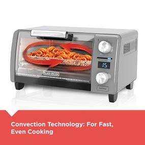 Convection Technology for fast, even cooking