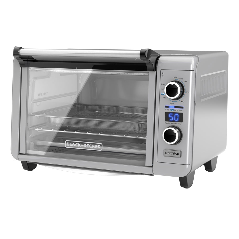 BLACK+DECKER™ Crisp 'N Bake Air Fry Digital Convection Countertop Oven, TOD3315G