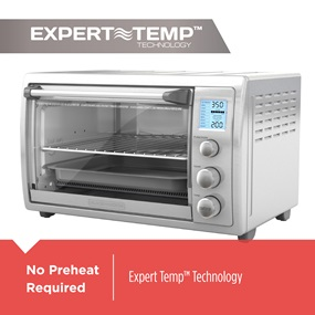 No Preheat Required | Expert Temp Technology