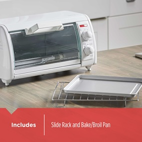 includes slide rack and bake/broil pan tro420