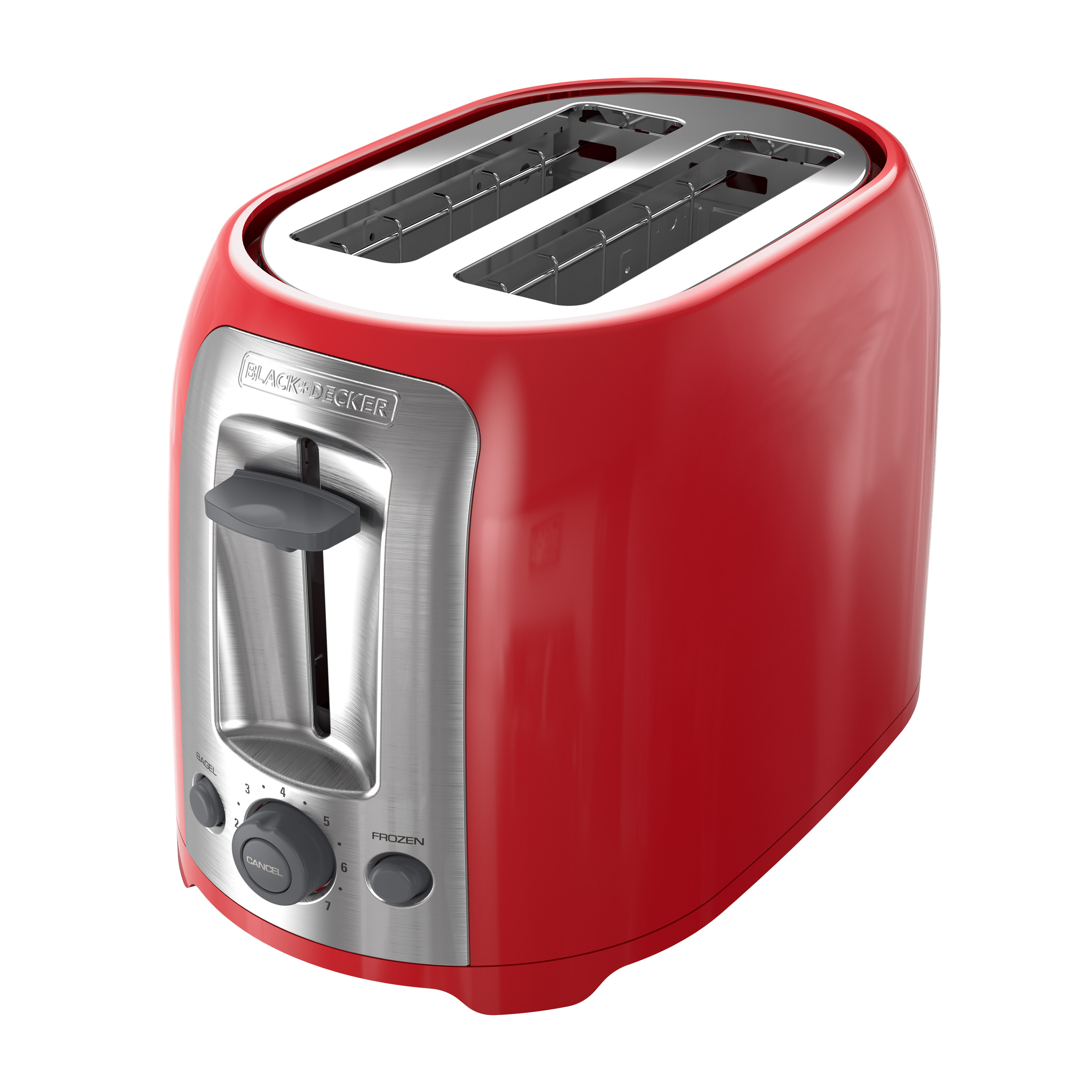 TR1278TRM 2 Slice Toaster Red