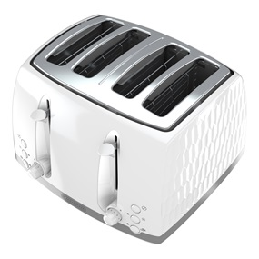 Honeycomb Collection 4-Slice Toaster