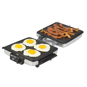 3-in-1 Grill Griddle and Waffle Iron