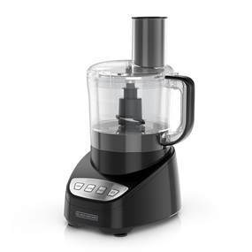 FP4100B Easy Assembly 8-Cup Food Processor, Black