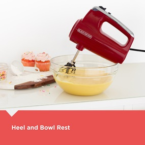 Heel and Bowl Rest