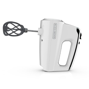 Helix Performance Premium Hand Mixer White - Side View