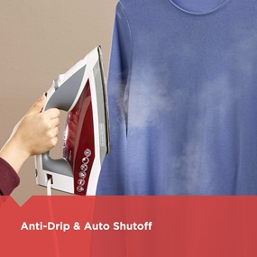 Anti-Drip and Auto Shutoff