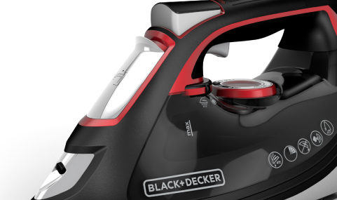 IMPACT Advanced Stainless Steel Steam Iron BLACK+DECKER™ IR3010