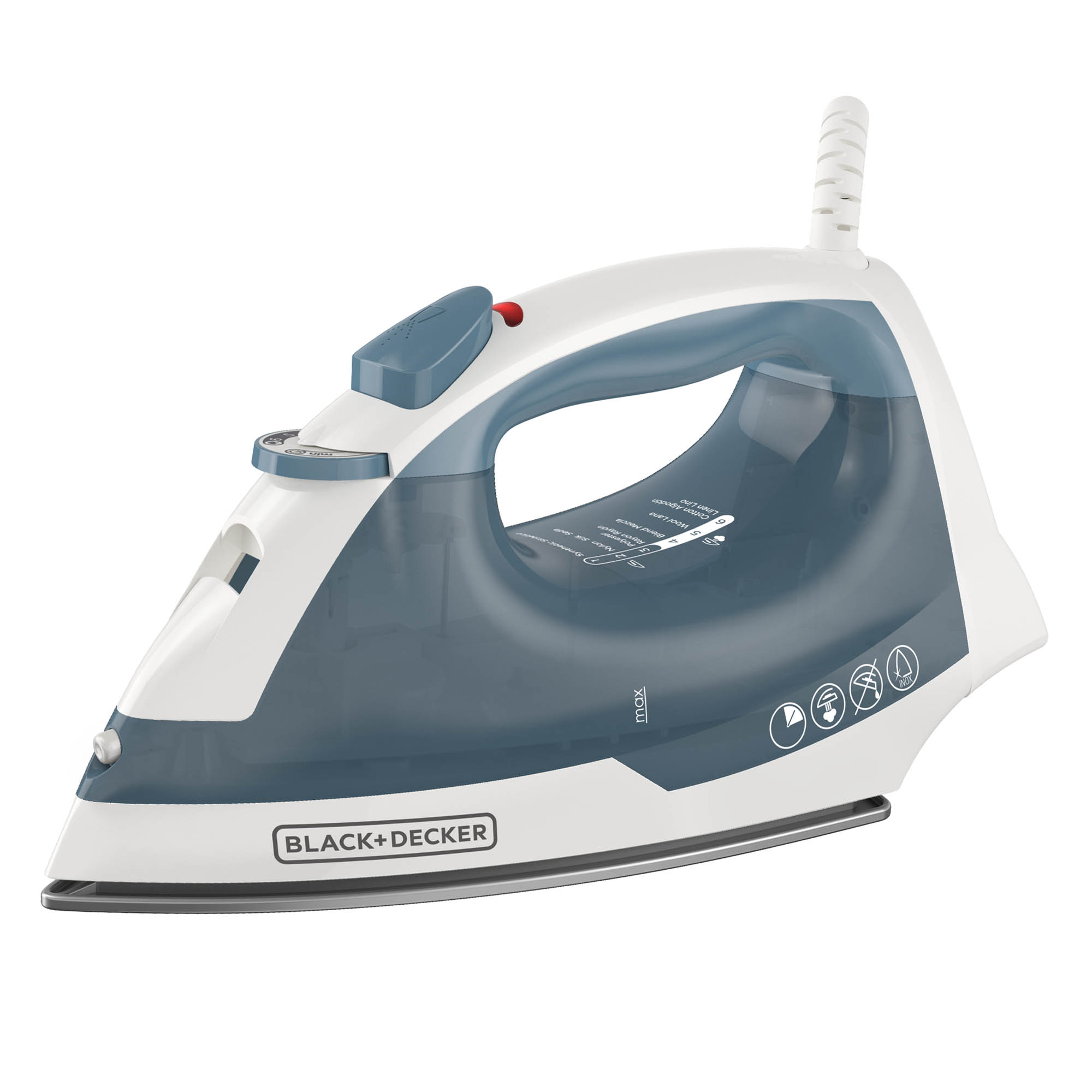 Easy Steam Nonstick Iron, Blue