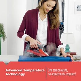 Advanced Temperature Technology - One Temperature, no adjustments required!