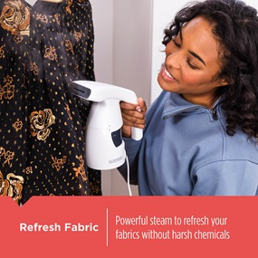 Easy Garment Steamer refreshes your fabrics without harsh chemicals - HGS011