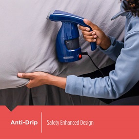 Easy Garment Steamer is anti-drip for enhanced safety - HGS011S