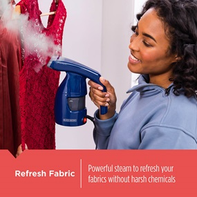 Easy Garment Steamer refreshes your fabrics without harsh chemicals - HGS011S