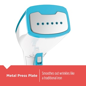 Metal Press Plate - Smoothes out wrinkles like a traditional iron