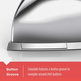 F67E Button Groove on Soleplate