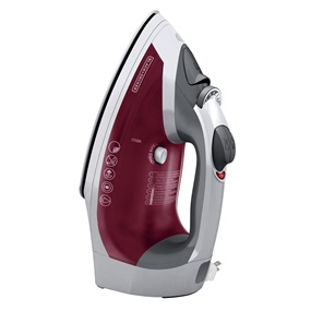 ICR07X XPRESS™ Traditional Cord Reel Iron, Burgundy