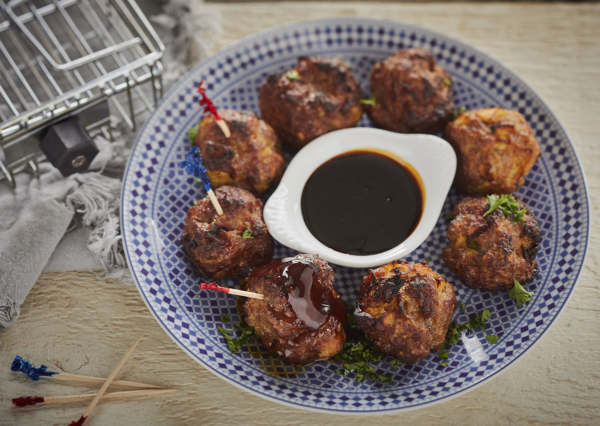 Pork Apple Meatballs George Foreman Recipes