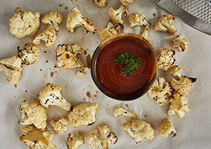 Honey Garlic Cauliflower Bites George Foreman Recipe