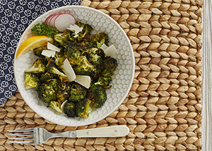 Air Fryer Simple Roasted Broccoli George Foreman Recipe