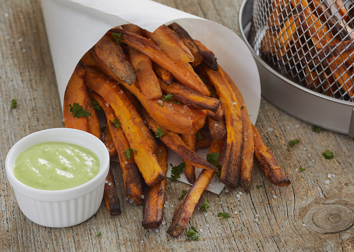Air Fryer Sweet Potato Fries George Foreman Recipe