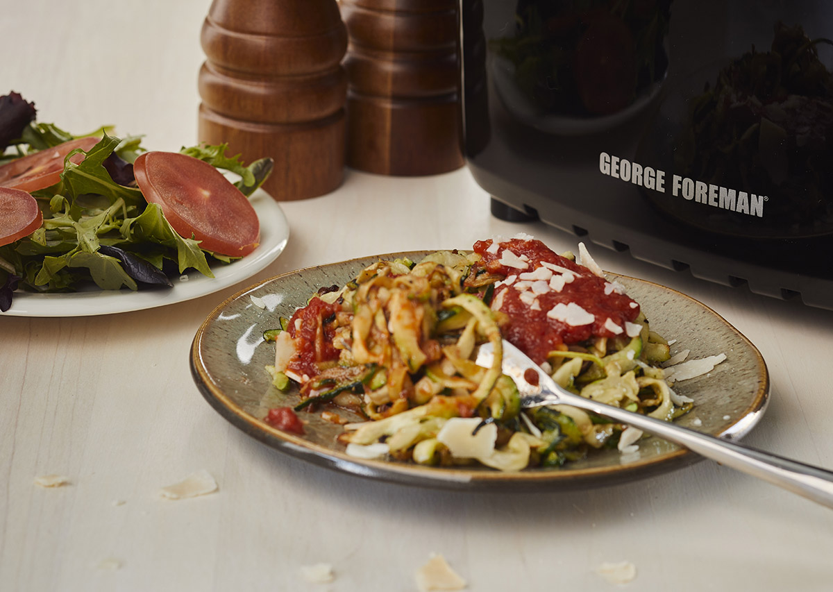 Air Fryer Zoodles George Foreman Recipe