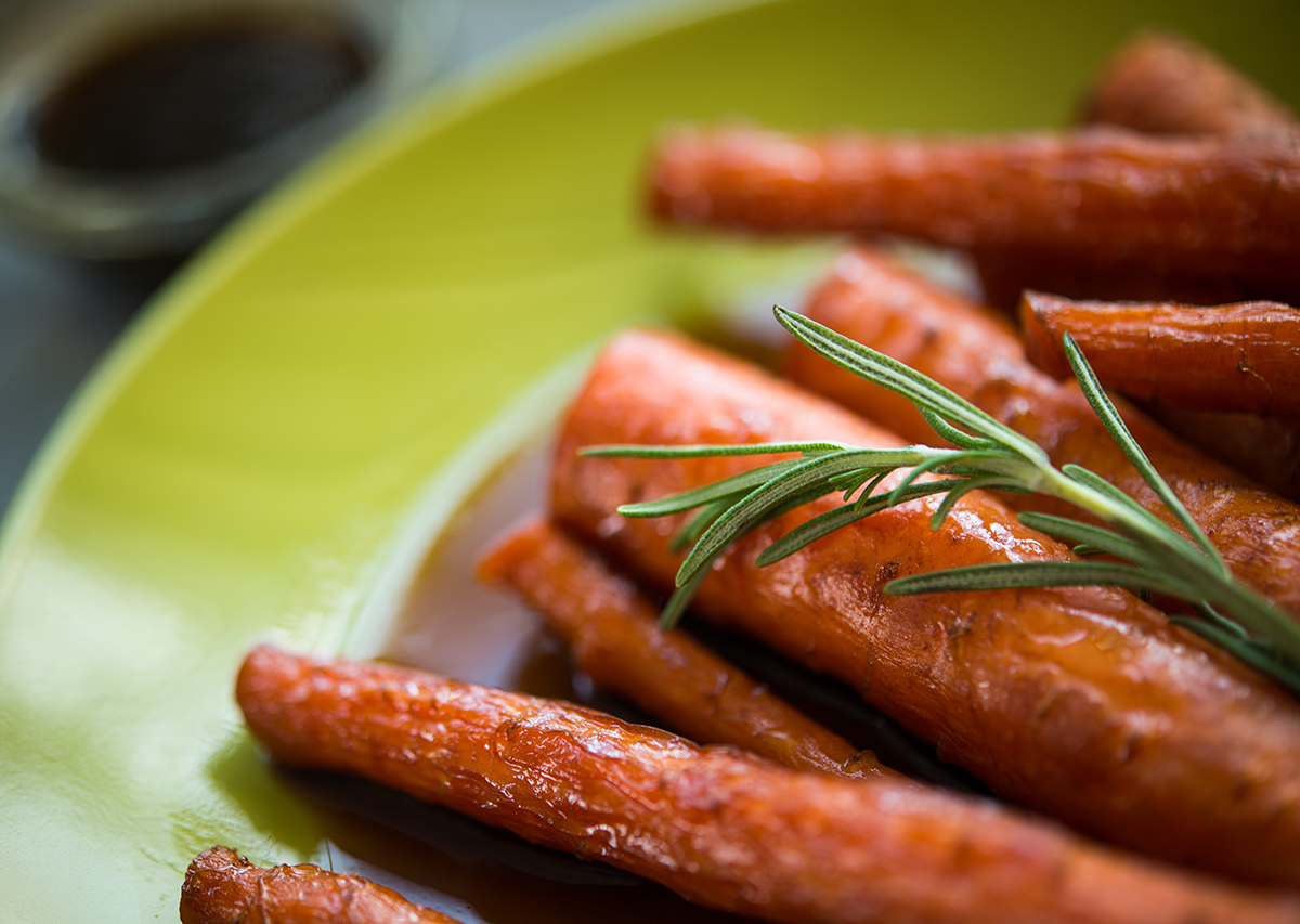 Balsamic Carrots