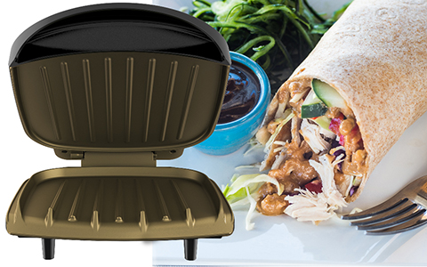 George Foreman® feature callout gr136b