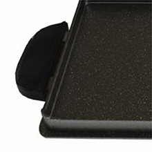 George Foreman® evolve grill system griddle plate cool tough handles gfp84bp