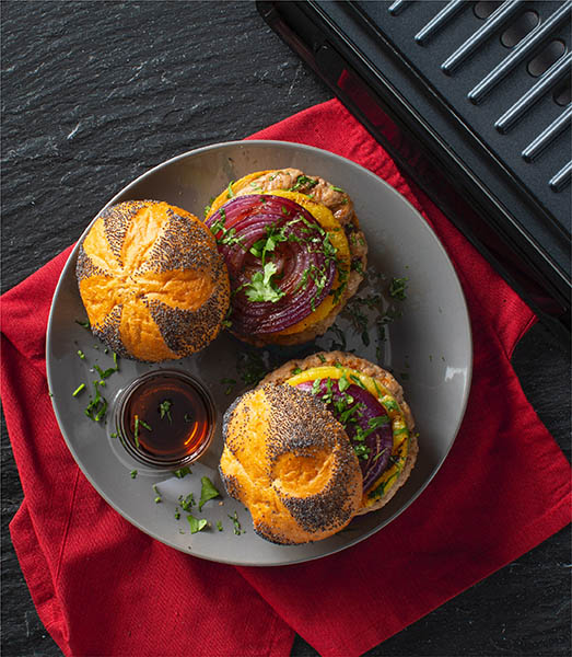 Teriyaki Turkey Burgers Recipe